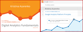Сертификаты Гугла