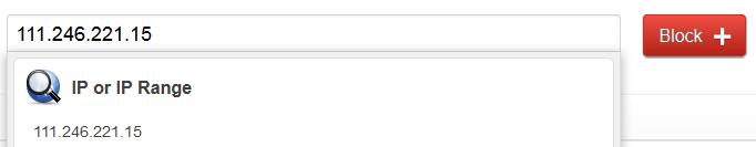 Заблокировать IP адреса через CloudFlare